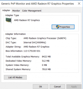 How To Increase Dedicated Video RAM