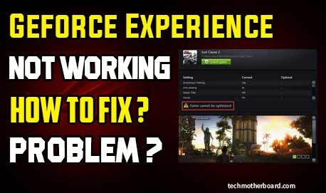 Geforce-Experience-not-working